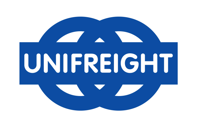 For screen UNIFREIGHT LOGO MEDIUM